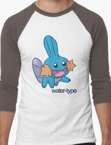 Pokemon Water-types - Mudkip Men's Baseball ¾ T-Shirt