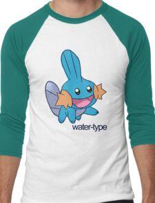 Pokemon Water-types - Mudkip Men's Baseball ¾ T-Shirt