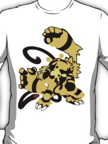 【16300+ views】Pokemon  Elekid>Electabuzz>Electivire T-Shirt