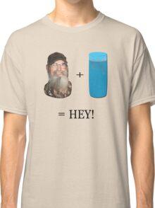 Si + Tea Glass = HEY!  Classic T-Shirt