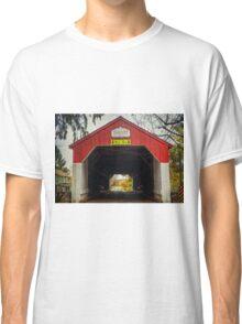 Uhlerstown Covered Bridge IV Classic T-Shirt