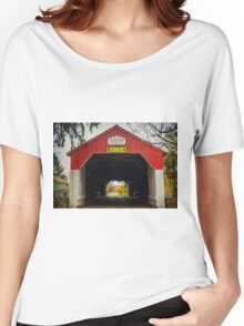 Uhlerstown Covered Bridge IV Women's Relaxed Fit T-Shirt