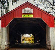 Uhlerstown Covered Bridge IV by Debra Fedchin
