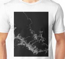Honolulu map Hawaii Unisex T-Shirt