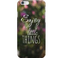 The Small Things iPhone Case/Skin