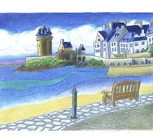 Tour Solidor - St. Malo, France by RiverbyNight