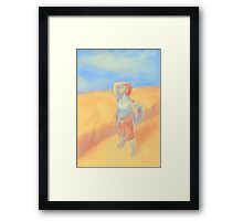 The Wheatfield Framed Print