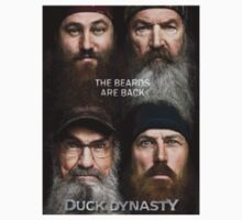 Duck Dynasty Beards Kids Tee