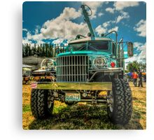 High Hauler Metal Print