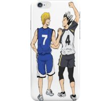 Bokuto and Kise iPhone Case/Skin