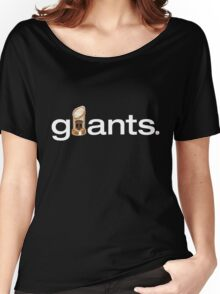 San Francisco Giants World Series Trophy (adult size) Women's Relaxed Fit T-Shirt