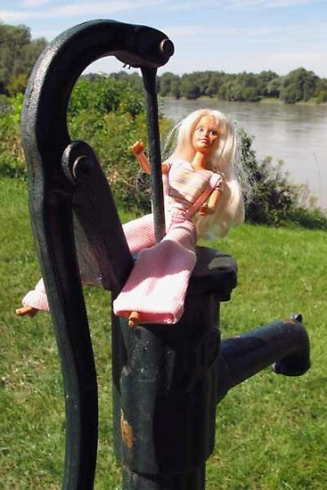 Old water pump near the Danube by VeronicaPurple