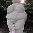 Venus and Veronica in Willendorf by VeronicaPurple