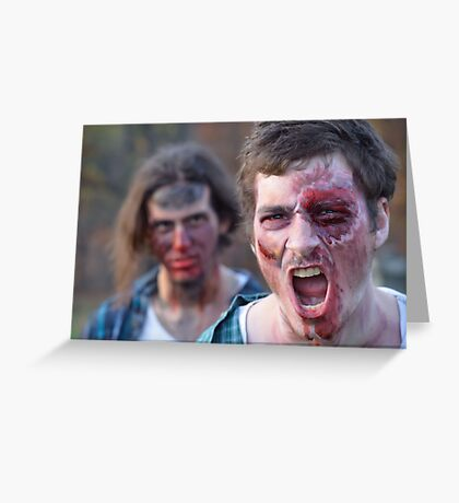 ZOMBIES ~ series Greeting Card