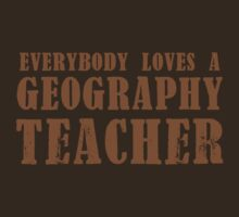 Everybody loves a Geography teacher by jazzydevil