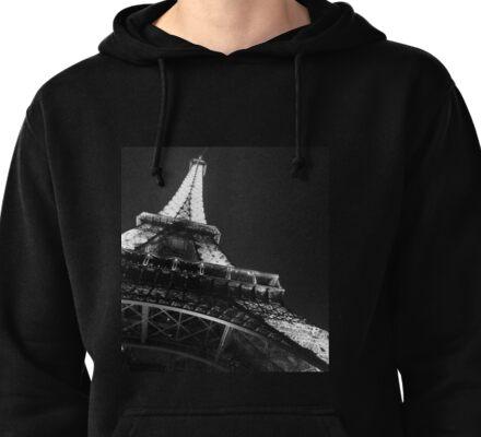 Eiffel Tower Pullover Hoodie