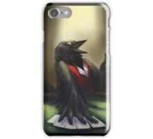 Crow player iPhone Case/Skin