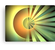 Clementine Rays Canvas Print