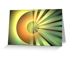 Clementine Rays Greeting Card