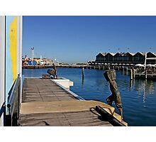 Fremantle. Fisherman Photographic Print
