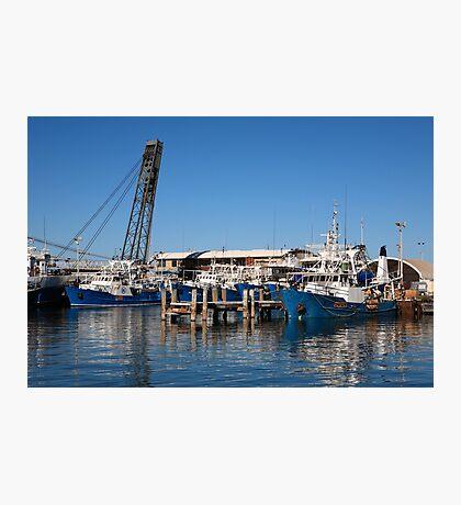 Fremantle-Fishing Boats Photographic Print