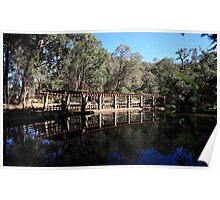 Roleystone,Araluen Botanic Garden's Lake Poster