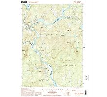 USGS TOPO Map New Hampshire NH Bristol 329491 2000 24000 Photographic Print
