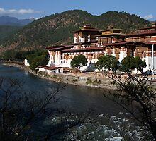 Punakha Dzong, Bhutan by LeighBlake