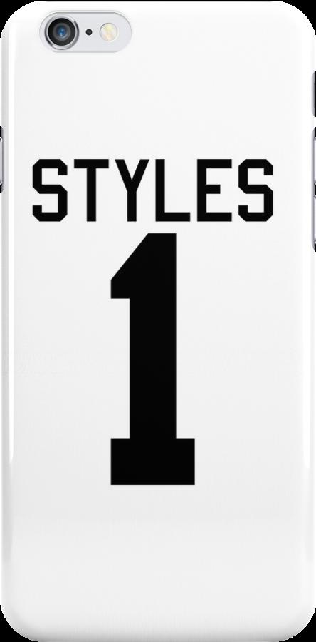 Harry Styles jersey (black text) by sstilinski