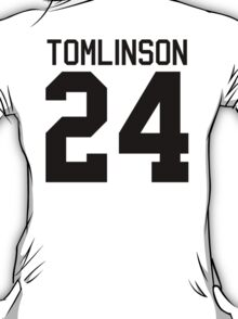 Louis Tomlinson jersey (black text) T-Shirt