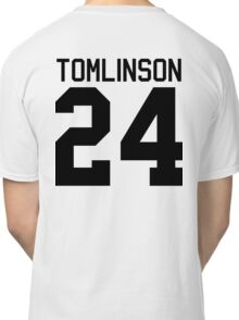 Louis Tomlinson jersey (black text) Classic T-Shirt