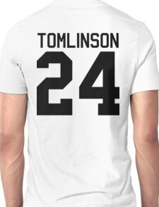 Louis Tomlinson jersey (black text) Unisex T-Shirt