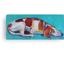 Guard dog!! Canvas Print
