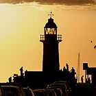 Fremantle. South Moll Sunset by Tony Brown