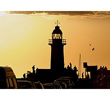 Fremantle. South Moll Sunset Photographic Print