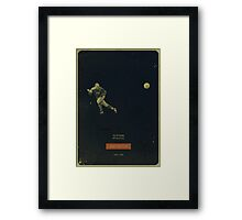 Andy Ritchie - Oldham Athletic Framed Print
