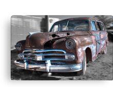 Rusty Dodge Canvas Print
