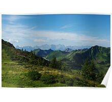 Mountain scenery near Portlahorn, Austria Poster