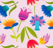 Decorative Tulips Pattern Sticker