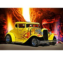 Smoke'n HOT Coupe Photographic Print