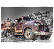 Budsville truck Poster