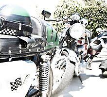 Vintage Cafe Racers  by laurenelisabeth