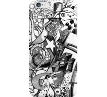 Arbitrary Milestones - Sketch Pen & Ink Illustration iPhone Case/Skin