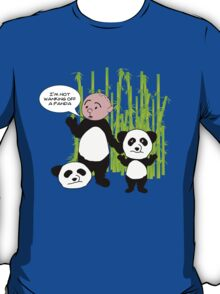 I'm not wanking off a Panda - Karl Pilkington T Shirt T-Shirt