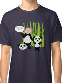 I'm not wanking off a Panda - Karl Pilkington T Shirt Classic T-Shirt