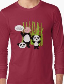 I'm not wanking off a Panda - Karl Pilkington T Shirt Long Sleeve T-Shirt