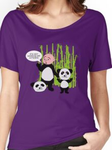 I'm not wanking off a Panda - Karl Pilkington T Shirt Women's Relaxed Fit T-Shirt