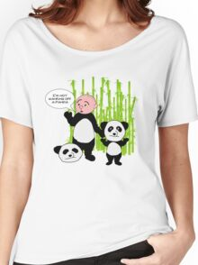 I'm not wanking off a Panda - Karl Pilkington T Shirt Women's Relaxed Fit T-Shirt