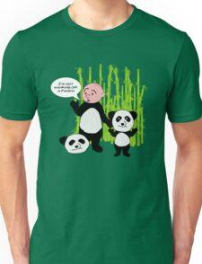 I'm not wanking off a Panda - Karl Pilkington T Shirt Unisex T-Shirt