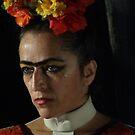 Frida Kahlo by Bernhard Matejka
